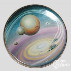 "Декоративная тарелка ""Другая галактика"""